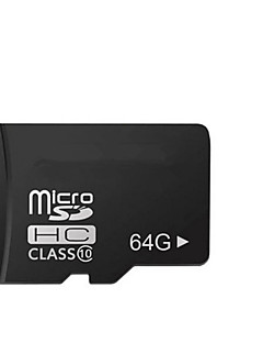 64GB Class 10 Micro SD SDHC TF Flash Memory Card with SD Adapter High Speed Genuine