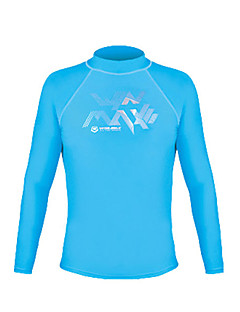 Men's Hiking T-shirt Waterproof Thermal / Warm Quick Dry Ultraviolet Resistant Insulated Breathable Lightweight Materials Compression Tops