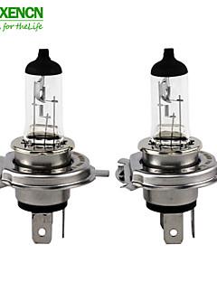 2pcs h4 P43T xencn 12v 100 / 90w 3200k série offroad clara auto lâmpadas padrão brilhante farol do carro lâmpada de halogéneo marca