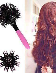 3D Cepillo Pelo Comb Brush Estilo Para Desenredar Salon Rizos Estilista Blowing