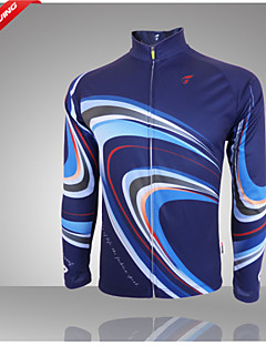 Getmoving® Cycling Jersey Women's / Men's / Unisex Long Sleeve Bike Breathable / Anatomic Design / Anti-Insect / Back Pocket Jersey / Tops