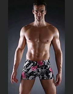 Free Shipping Hot Wholesale Vintage 2015 Spandex Mens Swimsuits Plus Size Swimsuit Men L.XL.XXL.XXXL