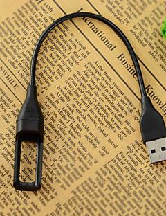 Portable USB Charging Cable for Fitbit Flex Wireless Wristband Bracelet - Black (22.2cm)