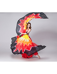 Performance Belly Dance Isis Wings Women's Performance Silk Tie Dye 1 Piece (more colour)
