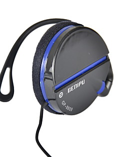 genipu gp-8809 3,5 mm stereo-music clip-on koptelefoon