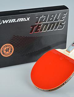 winmax® 1 Stern einzigen Tischtennis / Ping-Pong-Schläger kurzen Griff mit einer Farbe Verpackungskasten