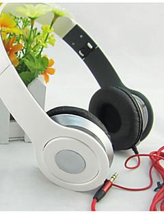 nuevo cable Auriculares manos libres auricular estéreo ajustable sobre-oído para mp3 / mp4 cancelación de ruido auriculares