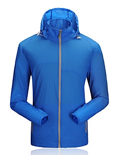 Sports Cycling Jacket Men's Long Sleeve BikeWaterproof / Breathable / Quick Dry / Windproof / Ultraviolet Resistant / Anti-Insect / YKK
