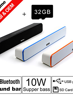 32GB TF Card and G-807 10W Power Bluetooth Sound Bar Speakers FM Aux remote control Stereo Bluetooth Speaks Wireless