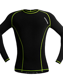 CoolChange® Cycling Jersey Unisex Long Sleeve BikeBreathable / Thermal / Warm / Quick Dry / Moisture Permeability / Lightweight Materials