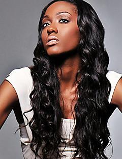 여성 브라질 처녀 머리 물결 인간의 머리 색깔에 대한 인간의 머리 레이스가 발 (# 1 # 1B # 2 # 4)