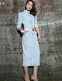 Extra long Aux femmes Vintage / Décontracté / Mignon / Soirée / Travail Toile de jean / Autres