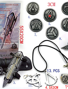 Assassin's Creed - Ezio Aleación/PVC - Arma/Distintivo/Más Accesorios -