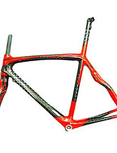 NEASTY Telaio da Strada Completamente in Carbonio Bicicletta Telaio 700C Lucido 12K 50/52/56cm cm 19.7/20.5/22 pollice