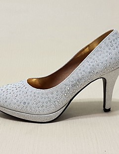 Women's Spring / Summer / Fall / Winter Heels Leatherette Wedding / Party & Evening / Casual Stiletto Heel Sequin / Sparkling GlitterRed