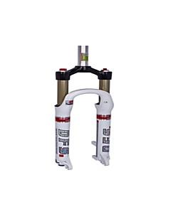 방수/조절가능 - 사이클링/산악 자전거/MTB/레크 리에이션 사이클 - 자전거 포크 ( 블랙/화이트 , 마그네슘 합금/7075 알루미늄 합금 ) 서스펜션 포크