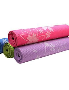 Yoga Mats ( Blauw/Groen/Orange/Donker Paars/Hemelsblauw , PVC )