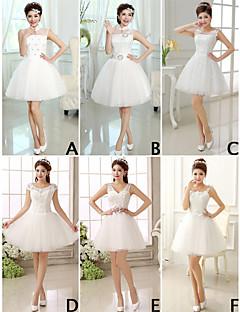 Mix & Match Dresses Short/Mini Lace 7 Styles Bridesmaid Dresses (3789825)