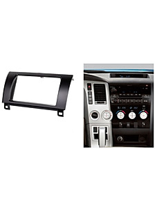 Car Radio Fascia for Toyota Tundra Sequoia Stereo DVD Facia Headunit Install Fit Dash Kit CD Trim Surround