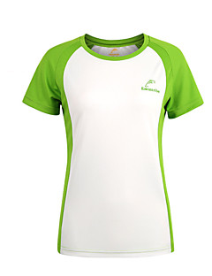 Summer Women Sporting Short Sleeve Quick Dry Breathable Outdoor Sporting Short Breathable O-neck T-Shirts