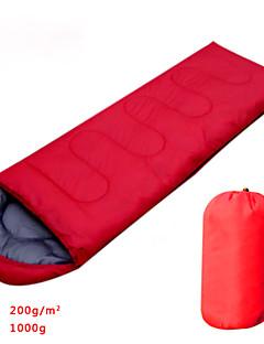 Sleeping Bag Rectangular Bag Hollow Cotton 900g Hiking / Camping / Fishing / TravelingMoisture Permeability / Moistureproof /