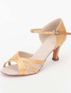 προσαρμόσετε τα παπούτσια χορού επιδόσεις σατέν άνω latin παπούτσια για τις γυναίκες