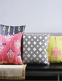 set de 4 classiques rococo fantaisie couvertures fraîches classiques d'oreillers décoratifs