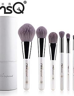 msq® 8pcs Faser weißen Make-up Pinsel-Sets