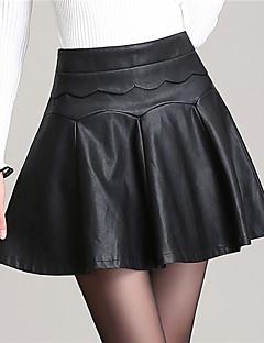 נשים - חצאית ( PU , עם ביטנה )