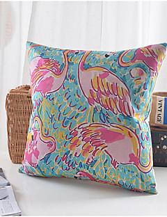 grue modèle coton / lin taie d'oreiller décoratif
