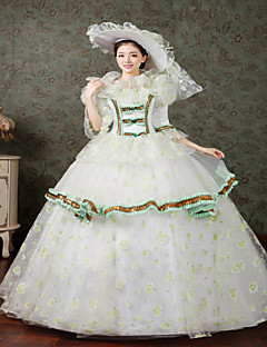 Classic 18th Century Marie Antoinette Inspired Dress Victorian Dress Halloween Party Dress