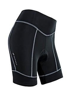 WEST BIKING® Cykelshorts med indlæg Dame Åndbart 3D Måtte Refleksbånd Cykel Shorts Forede shorts Terylene Ensfarvet Cykling/CykelForår