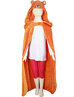 Himouto! Umaru-Chan Orange Coral Fleece Cloak Cosplay Costumes