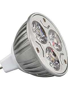 9W GU5.3(MR16) Spot LED MR16 3 LED Haute Puissance 900 lm Blanc Chaud / Blanc Froid / RGB Décorative DC 12 V 1 pièce