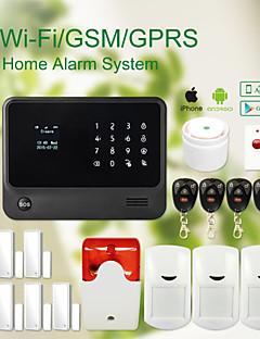 Wireless WIFI+GSM Home thief Security System alarm GS-G90B