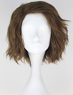 Cosplay Wigs Cosplay Cosplay Brown Short Anime Cosplay Wigs 30 CM Heat Resistant Fiber Male