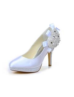 Wedding Shoes - Saltos - Saltos - Preto / Azul / Rosa / Roxo / Marfim / Branco / Prateado / Dourado / Champagne - Feminino - Casamento