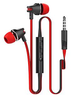 langsdom jv23 grand bas nudler wire øretelefon høj ydeevne i øret hovedtelefoner studiet med mikrofon
