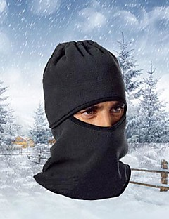 Ski Balaclava Hat Balaclava Bike Breathable / Thermal / Warm / Windproof / Dust Proof Women's / Men's Black Fleece