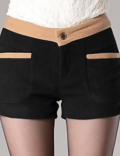 Casual - Tweed / Katoenmixen - Micro-elastisch - Kort - Broek - Vrouwen