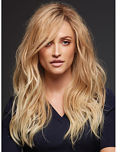 Capless Synthetic Sexy long Curly Womens Synthetic Wigs Top Quality