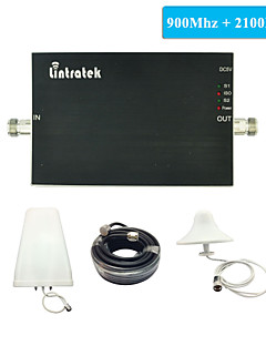 New Arrival 3G GSM Signal Repeater Cell Phone Signal Booster GSM 900Mhz 2100Mhz W-CDMA Dual Band Signal Amplifier