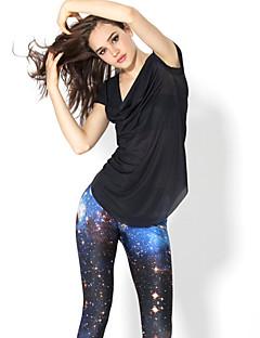 Yoga Pants Meia-calça Compressão Natural Stretchy Wear Sports Mulheres Outros Ioga / Fitness