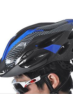 Sportovní Unisex Jezdit na kole Helma 21 Větrací otvory Cyklistika Cyklistika Horská cyklistika Lezení Jedna velikost PC EPS PVCŽlutá
