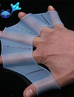 úszás hajtómű fin kézzel úszóhártyás függelékek szilikon edzőkesztyű Női Férfi Gyerek úszóhártyás kesztyűt az úszáshoz