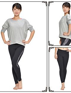 Ioga Blusas Anti-Estático / Antibacteriano / Redutor de Suor / Macio Stretchy Wear Sports Mulheres-Iyoga,Ioga