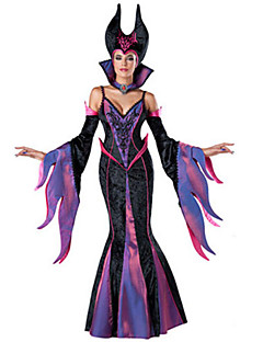 Women's 7pcs Deluxe Fairytale Witch Costume