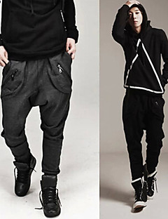 Running Pants/Trousers/Overtrousers Men's Breathable / Limits Bacteria / Sweat-wicking Racing / Leisure Sports / Running Sports Stretchy