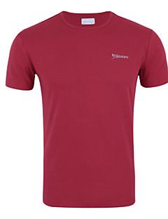 Corrida Camiseta Homens Respirável / Antibacteriano / Redutor de Suor Poliéster Corridas / Corrida Esportivo Wear Sports Stretchy Delgado