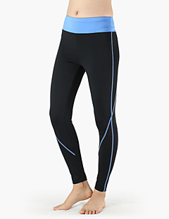 Running Tights / Pants/Trousers/Overtrousers / Bottoms Women'sBreathable / Ultraviolet Resistant / Quick Dry / Anatomic Design /